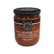 Sable & Rosenfeld Red Pepper Thai Bruschetta