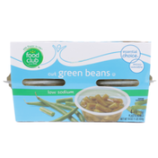 Food Club Low Sodium Cut Green Beans