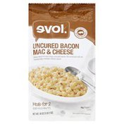 Evol Foods Mac & Cheese, Uncured Bacon