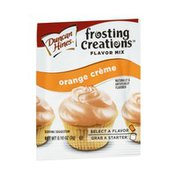 Duncan Hines Frosting Creations Flavor Mix Orange Creme