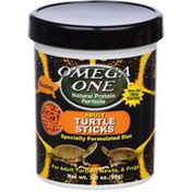 Omega One Natural Protein Formula Adult Turtle Sticks Specially Formulated Diet