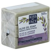 Kiss My Face Soap, Olive Oil, Olive & Lavender