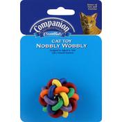 Companion Cat Toy, Nobbly Wobbly
