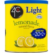 4C Foods Light Lemonade Natural Flavor Drink Mix