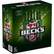 Becks Domestic Pilsner Beer