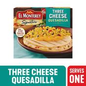 El Monterey Signature Three Cheese Quesadilla Meal