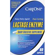 CareOne Lactase Enzyme, Caplets