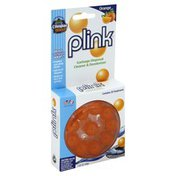 Plink Garbage Disposal Cleaner & Deodorizer, Orange