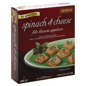 Athenos Appetizers, Fillo Blossom, Spinach & Cheese