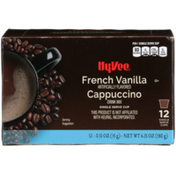Hy-Vee French Vanilla Cappuccino Drink Mix Single Serve Cups