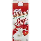 Hiland Dairy Soymilk, Organic, Original