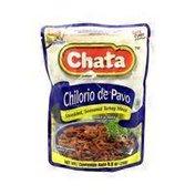 Chata CHILORIO DE PAVO Shredded, Seasoned Turkey Thigh Meat