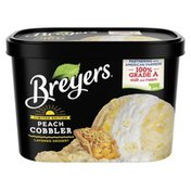 Breyers Frozen Dessert With Dairy Layered Dessert Peach Cobbler