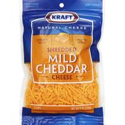 Kraft Shredded Cheese, Mild Cheddar