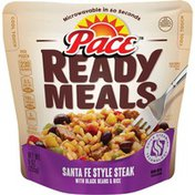 Pace® Ready Meals Santa Fe Style Steak with Black Beans & Rice Meal