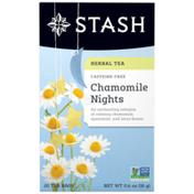 Stash Tea Chamomile Nights Herbal Tea, Caffeine Free