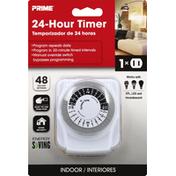 Prima Timer, 24-Hour, Indoor