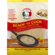 La Banderita Flour Tortillas, Soft Taco