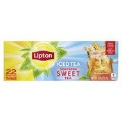 Lipton Family Size Tea Bags Southern Sweet Tea