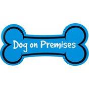 "Hillman Group Sign Center Dog On Premises 14.5"" L X 7"" H"