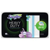 Swiffer Heavy Duty Multi-Surface Wet Cloth Refills For Floor Mopping And