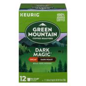 Green Mountain Coffee Decaf Dark Roast Coffee K-Cup Pods Dark Magic