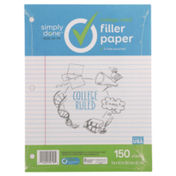 Simply Done College Ruled Filler Paper