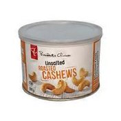 President's Choice Unsalted Roasted Cashews