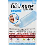Nasopure Nasal Wash System Kit