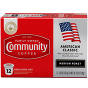 Community Coffee American Classic Coffee Pods for Keurig K-cups