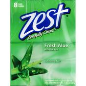 Zest Refreshing Bars, Fresh Aloe