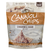 Golden Cannoli Chips Cinnamon & Sugar