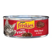Friskies Prime Filets With Beef In Gravy Wet Cat Food