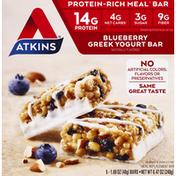 Atkins Meal Bar, Blueberry Greek Yogurt