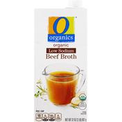O Organics Beef Broth, Low Sodium, Organic