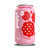 Poppi Prebiotic Soda, Raspberry Rose