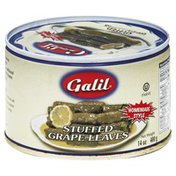 Galil Grape Leaves, Stuffed, Homemade Style, Can