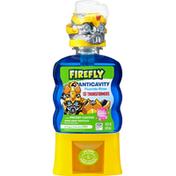 Firefly Fluoride Rinse, Anticavity, Bubble Gum, Transformers
