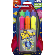 Mr. Sketch Markers, Neon Colors, Scented