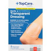 TopCare Transparent Dressing, Sterile, Waterproof
