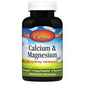 Carlson Labs Calcium & Magnesium Gels
