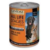 Canidae Lamb & Rice Formula Adult, Puppy & Dog Food