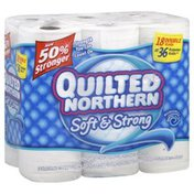 Quilted Northern Bathroom Tissue, Double Rolls, Unscented, 2-Ply