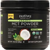 Nutiva MCT Powder, Organic, Matcha