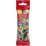 Wilton Rainbow Jawbreaker Candy Decorations, 1.5 oz.