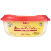 Hy-Vee Salted Sweet Cream Spreadable Butter With Canola Oil