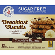 Voortman Cookies, Breakfast Biscuits, Sugar Free, Chocolate Banana