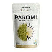 Paromi Tea Paromi Organic Matcha with Vanilla, Caffeinated