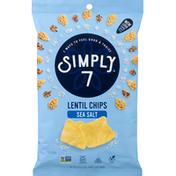 Simply 7 Lentil Chips, Sea Salt