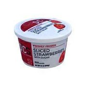 PICS Sliced Strawberries
